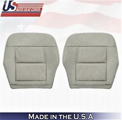 For 2010 To 2013 Mercedes Benz E350 E550 Front Bottoms Leather Cover Ash Gray
