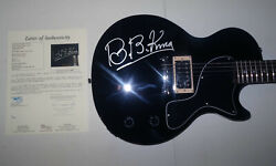 Signed Bb King Autographed Epiphone Guitar Certified Authentic Jsa Loa Y84610