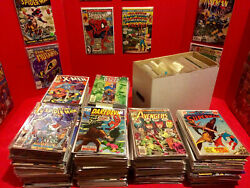 Huge 50 Comic Book Lot-marvel/dc Only - Free Shipping Vf+ To Nm+ All