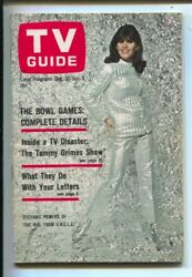 Tv Guide 12/31/1966-stephanie Powers-girl From U.n.c.l.e.-illinois-no Label-n...