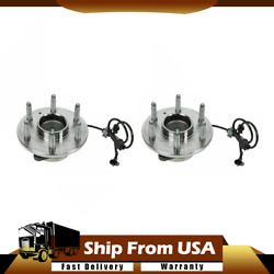 Front 2x Timken Wheel Bearing And Hub Assembly Fits Chevy Truck 2wd_wt
