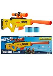 Nerf Fortnite Basr-l Sniper Rifle Dart Blaster With Removable Scope And Clip