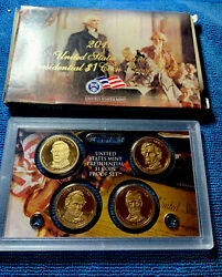 2010-s Us Mint Presidential 1 Coin Proof Set W/orig. Case And Coa Andbull Free Shipping