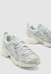 New Adidas Original Eqt Gazelle Athletic Running Shoes Menand039s 9 Or 10 Gray White