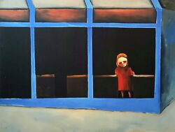 Charles Blackman Shy Girl Large Signed Limited Edition Print 100cm X 130cm