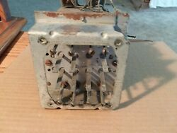 1938 Zenith Pushbutton Channel Selector Chassis From 93-369 Console Radio