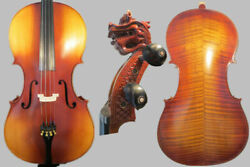 Special Offersuper Value Strad Style Song Master 4/4 Cellodragon Scroll 14561