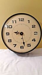 Vintage Simplex Battery Operated Wall Clock