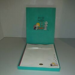 Vintage Peanuts Schroeder Piano Letter Stationary Set By Hallmark New Old Stock