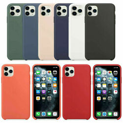 For Apple iPhone X XR XS MAX 8 7 6 6s plus Soft Silicone Case Cover