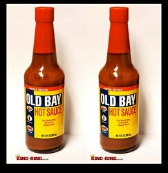 Old Bay Hot Sauce Limited Edition 10 Oz. Brand New Sealed Mccormick - 2 Bottles
