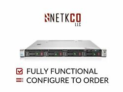 Hp Dl360 Gen9 4 Lff Server 1x E5-2640 V3 128gb Ddr4 Ram 4x 4tb Sata 3.5in Hdd