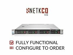 Hp Dl360 Gen9 4 Lff Server 1x E5-2680 V3 256gb Ddr4 Ram 2x 4tb Sata 3.5in Hdd