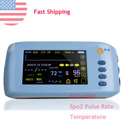 6-parameter Patient Monitor 5.1 Inch Tft Lcd Touch Screen + Advanced Software