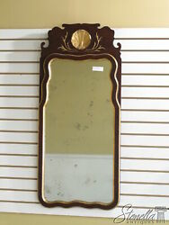 L33743 Friedman Brothers 6435 Queen Anne Mahogany With Distressed Mirror - New