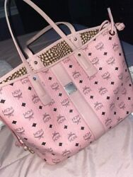 MCM Authentic Pink Bag $450.00