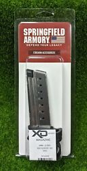 Springfield Armory Stainless Steel 9mm 8 Rd Xd-s Magazine W/ Sleeve - Xds0908