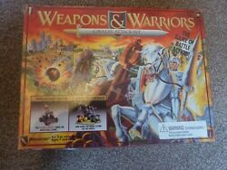 1994 Pressman Weapons And Warriors Cavalry Attack Set Tabletop Game Contents New