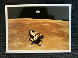 1969 Impact Apollo 11 Man On The Moon Glossy Set 12 History Trading Cards Mint
