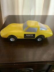Pacesetter Decanter Empty 1963 Corvette Coupe Yellow/silver 11 Kontinental Usa