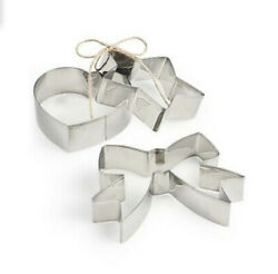 Martha Stewart Collection Cookie Cutters, Set Of 3 Stainless Steel Cookie Cutter