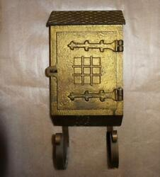 Vintage Arts And Crafts Style Bronze Mailbox