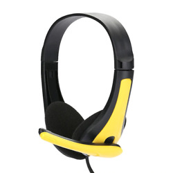 3.5mm Wired Gaming Headset Stereo Surround Headphone With Mic For Ps3 Ps4 Xbox