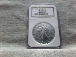 1989 Ms69 Silver Eagle Ngc Certified