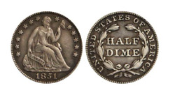 1837-1873 Seated Half Dime - The Coin Before The Nickel