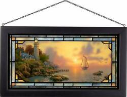 The Sea Of Tranquility Stained Glass Art By Thomas Kinkade