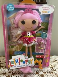 """Doll 12"""" Lalaloopsy Sew Limited Jewel Sparkles Only At Target W Mini Doll"""