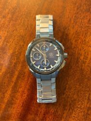 Brand New Zelos Zx Automatic Swiss Titanium Sold Out Valjoux 7750 Chronograph