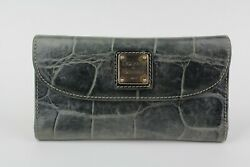 Dooney and Bourke Leather Wallet Nile Collection $28.95