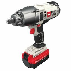 Porter-cable Pcc740la 1/2-inch 20 Volt Cordless 20v Impact Wrench W/ One Battery