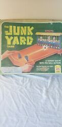 1975 Vintage The Junkyard Game By Ideal A Target Game With Pinball Action 100