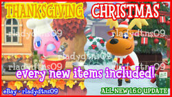 Animal Crossing:New Horizon All NEW Christmas and Thanksgiving Update 1.6 DIY