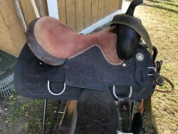 Western Saddle 16 In Good Condition