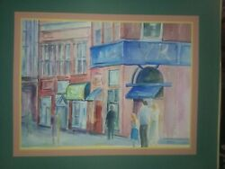 1980 Large Mary S. Dodd Watercolor