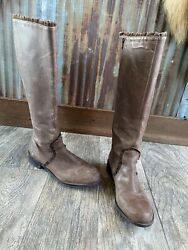 Anthropolgie Womens Leather Boots