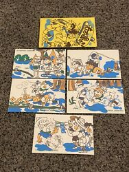 Lot Of 5 Japan Boys Scouts 5th Nippon Jamboree Post Cards