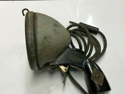 Vintage Pistol Grip Search Light Spot Lamp Early Old Police Fire Wrecker Towing