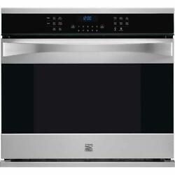 Kenmore Elite 30 Electric Single Convection Wall Oven 48353 Stainless Steel