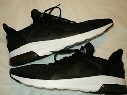 PUMA ELECTRON STREET MESH MENS ADULT SHOES SIZE 13 BRAND NEW BLACK WHITE FOAM