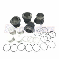 Engine Piston And Cylinder Set W/ 85.5mm Std. For Vw Super Beetle Ghia Thing 1.6l