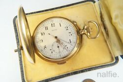 Antique 18k Gold Repeater Pocket Watch Italy Governor Of Tripoli 1913-14