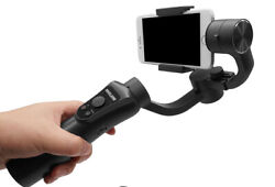 Handheld Gimbal Smartphone Stabilizer Focus Pull And Zoom For Phone And Action Cam