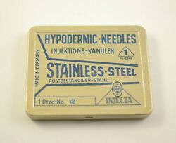 Hypodermic Needles Injecta Stainless Steel Made In Germany № 12