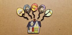 Loungefly Balloon Up Pixar Set Pin House Chaser 6 Pins