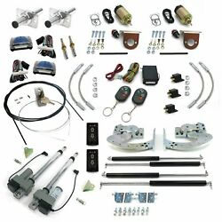 Automatic Remote Keyless Entry Lambo Shaved Door Conversion Kit And Emergency Latc