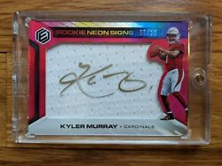 2019 Panini Elements Kyler Murray Rc Rookie Neon Signs Auto Sp /10 Cardinals Rpa